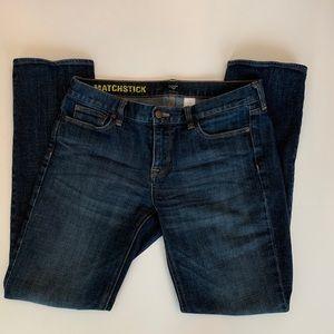 J. CREW MATCHSTICK Jean Size 31